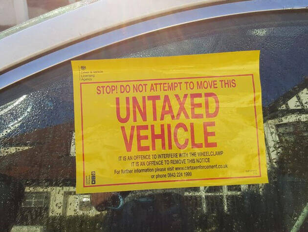 Have you remembered to pay your vehicle tax?