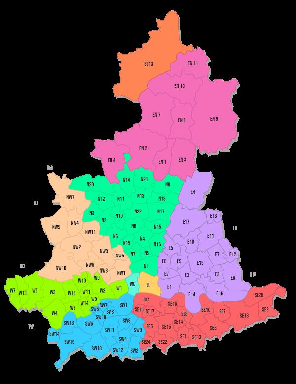 CVS Van Hire Map