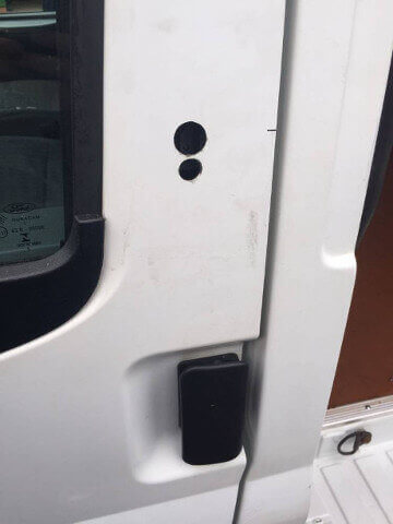 CVS - Vehicle Locks Fitted - Before