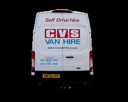 Large Van 2 CVS Van Hire